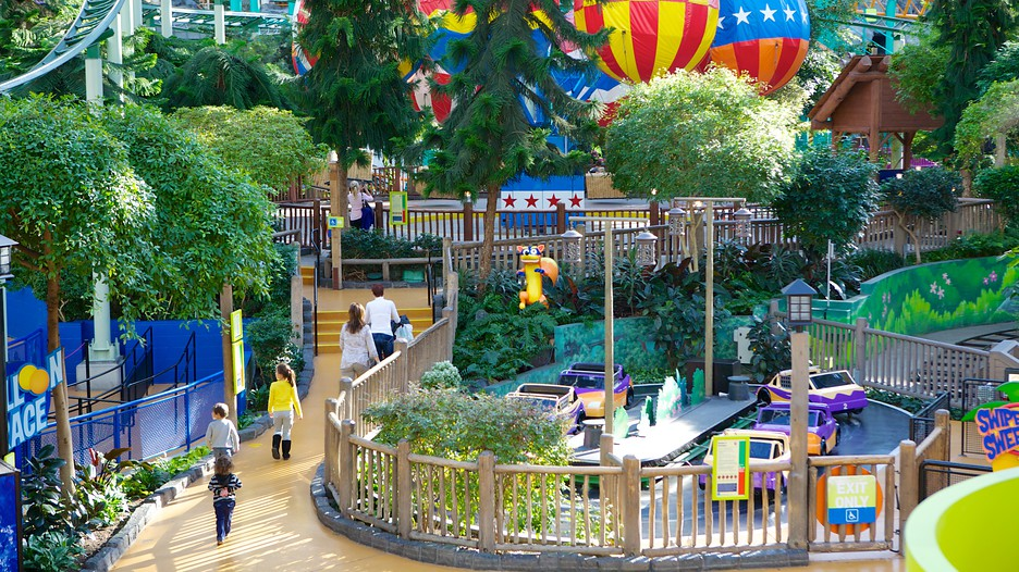 Nickelodeon Universe in Bloomington Minnesota – Minneapolis Tourist Attractions Map