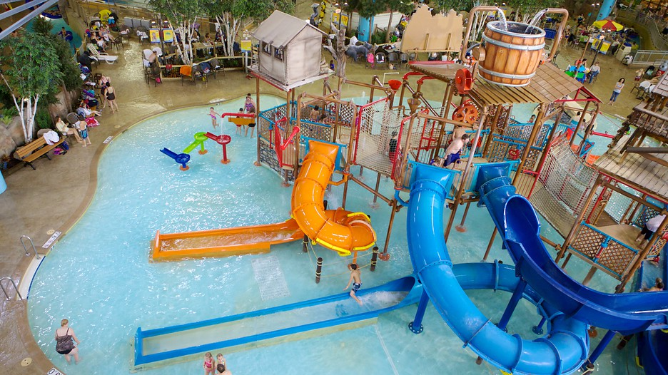 Water Park of America in Bloomington Minnesota – Minneapolis Tourist Attractions Map