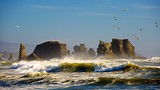 Bandon Beach - North America - Tourism Media