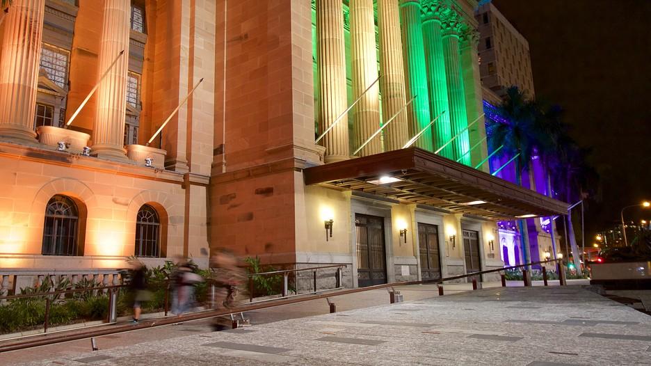 Foyer Museum Queensland : Brisbane city hall in queensland expedia