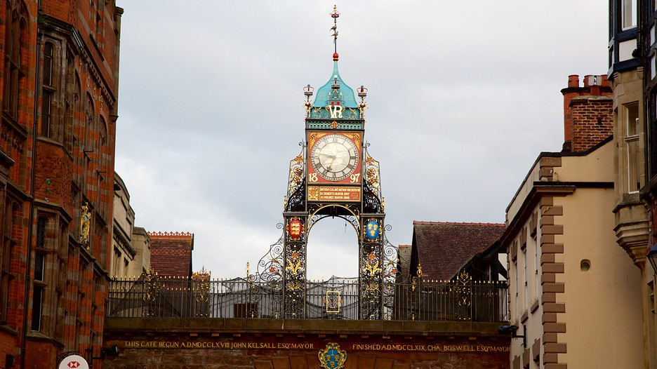 Eastgate Clock In Chester England Expedia Ca