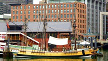 Boston Tea Party Ship - Boston