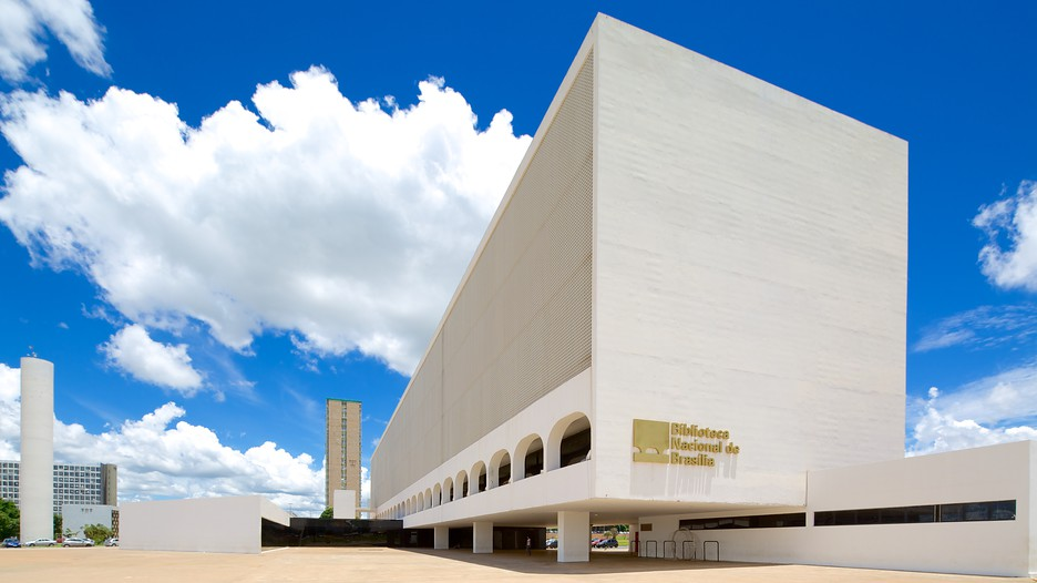National Library Brasilia d6098042 on oscar niemeyer tile