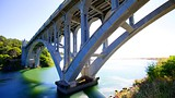Patterson Bridge - Gold Beach - Tourism Media