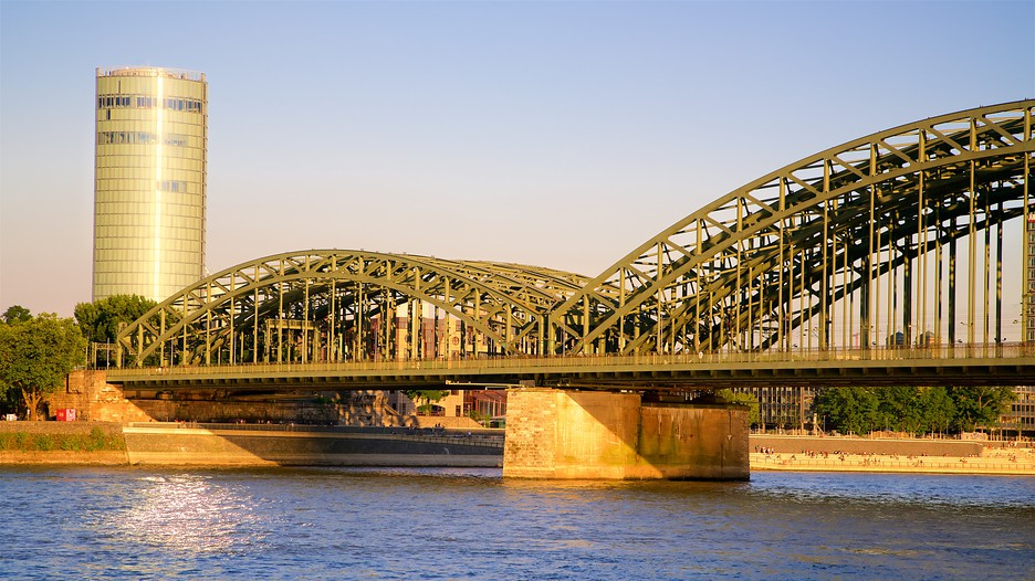Hohenzollern Bridge In Cologne Expedia