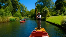 Punting on the Avon - Christchurch