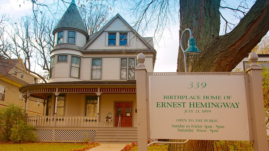 Ernest Hemingway Museum And House In Oak Park Illinois