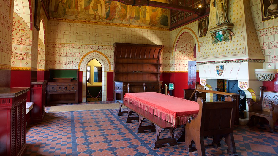 Castell coch red castle cardiff tourism media
