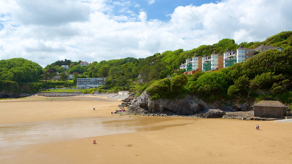 Caswell Bay Beach In Swansea Wales Expedia Ca