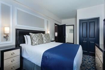 1 makuuhuone, tallelokero huoneessa, silitysrauta/-lauta, ilmainen Wi-Fi