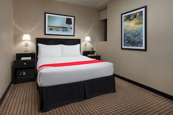 Egyptian cotton sheets, pillow top beds, in-room safe, desk