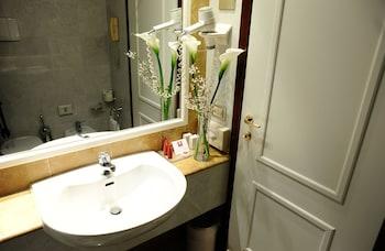 Gratis toiletartikelen, een haardroger
