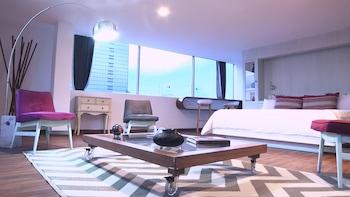 Caja fuerte, escritorio, cortinas opacas y wifi gratis