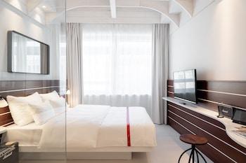 Premium-sengetøj, pengeskab, gratis Wi-Fi, sengetøj