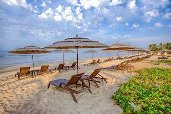 Ubicación a pie de playa y servicio gratuito de transporte a la playa