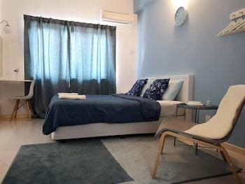 โต๊ะทำงาน, พื้นที่ทำงานแบบใช้แล็ปท็อป, เตารีด/โต๊ะรีดผ้า, ผ้าปูที่นอน