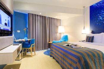 1 間臥室、迷你吧、保險箱、書桌